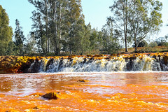Red river waterfall (alfredosaz) Tags: abstract acid acidic andalusia archaea background bacteria beautiful beauty cascade clean colorful colors copper death deep fall flowing forest fresh huelva industry landscape mineral natural nature orange outdoors rain red reflection rio river rock scenic spain spanish spring stone stream summer texture tinto transparent warm water waterfall waterfalls wild yellow