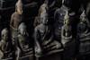 Sitting Buddha Statues, Pak Ou Caves, Luang Prabang Laos (AdamCohn) Tags: 055kmtobanpakouinlouangphabanglaos banpakou buddha buddhism buddhist laos louangphabang mekongriver pakou pakoucaves geo:lat=20051486 geo:lon=102217647 geotagged