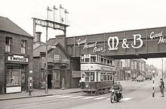 Last days at Aston (Lost-Albion) Tags: birmingham tram aston mitchellsbutler lms 1953