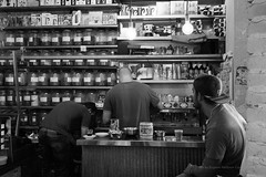 Coffeeshop, Shuk-Ha Carmel, Tel Aviv (jev) Tags: leicam9 leicasummiluxm35mmf14preasphfle bw israel summilux architectural architecture artq beverage blackandwhite bnw building carmelmarket cofeeshop coffee commercialbuilding cuisine diet drink drinks edifice edifices food foodandnutrition icstreetlife igstreet israeltrip jjstreetphotography leicacamera leicaimages market marketfood monochrome nonalcoholic onthestreet peoplearoundus peopleinframe peoplewatching shukhacarmel streetphoto streetphotography streetstyle structures telaviv telavivcity telavivmarket telavivstyle tlv travel