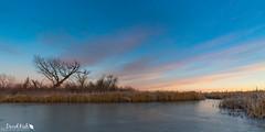 Frozen pond (dekish1) Tags: 2v3a0234jpg canon7dmarkii cherrycreekstatepark copyrightdavidkish colorado canon1022mm landscape sunrise frozen lake pond