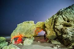 sous les étoiles (cristgal56) Tags: rochers nuits poseslongues portugal algarve