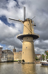 "Schiedam Windmill • <a style=""font-size:0.8em;"" href=""http://www.flickr.com/photos/45090765@N05/14337424852/"" target=""_blank"">View on Flickr</a>"