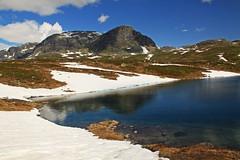 IMG_8544 Haukelifjell 2.juli. (JarleB) Tags: mountain water vann fjell haukeli haukelifjell fjellvann