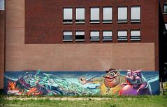 graffiti (wojofoto) Tags: amsterdam graffiti streetart wojofoto coloredeffects stadsarchief nederland netherland holland wolfgangjosten