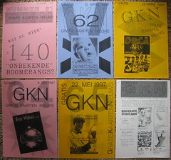 GKN free magazine 61-66 (streamer020nl) Tags: cards 1996 1993 postcards photocopy 1997 gratis 1998 1995 1994 a4 boomerang nimit nieuws kaarten freecards nieuwsbrief photocopied gocards gkn adpost schoolcards collegecards pubcards studycardscultcards