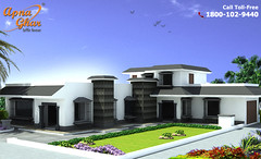 Simplex House Design (ApnaGharhd) Tags: house design simplex