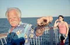 Spider Crab (dtanist) Tags: new york city nyc newyorkcity sea newyork film brooklyn analog island pier spider fishing fisherman kodak crab rangefinder olympus sp boardwalk 100 coney 35 zuiko steeplechase ektar gzuiko 35sp 42mm