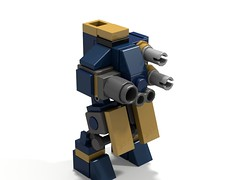 Another (Aree't'sa) Tags: lego mecha mech microscale