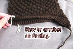 How to sew on a earflap youtube picture (Meladora) Tags: crochet ear how beginner flaps meladorascreations