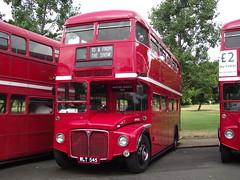RM545 (WLT545) Routemaster 60 - Finsbury Park 13-07-2014.1 (routemaster2217) Tags: bus transport doubledeckerbus lt finsburypark parkroyal londontransport vintagevehicle halfcab openplatform classicbus aecroutemaster routemaster60