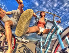 BEACH CRUISING (Chris Hatounian Photography) Tags: ocean beach bike advertising photography bicycling cycling pacific photos action scenic bikes wideangle m bicycles zuma hdr ventura cruisers khs aero zumabeach actionphotography beachcruisers photomatix gopro hero3 goprohero urbancycling nationalgeoographic hero2 hatounian khsbicycles aerocruisers