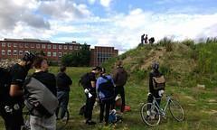 Schleuder Checkpoint (HalbFleisch) Tags: bicycle club chaos alleycat nonstop tallbike radrennen nsbc schwitzen nonstopschwitzen assicat