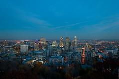 Night Montreal (odziuba) Tags: city sky canada night buildings landscape lights skyscrapers montral quebec nacht montreal qubec stadt paysage landschaft nuit           oleksandrdziuba