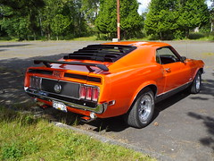 1970 Ford Mustang Mach 1 (Foden Alpha) Tags: ford plate columbia license british mustang mapleridge collector mach1 b27138