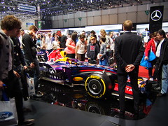 Display of a F1 car!