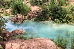 Havasu Creek (J Blough) Tags: arizona grandcanyon bluegreen supai havasupai