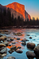 Gates of the Valley (Todd Hurley Photography) Tags: california river landscape nationalpark nps merced yosemite elcapitan sierranevade gatesofthevalley toddhurleyphotography