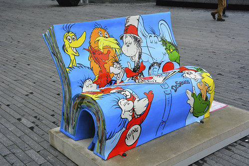 Books Benches, Dr Seuss by Martin Pettitt, on Flickr