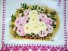 2014-07-09 16.50.27 (patriciaangelo2014) Tags: de pano em rosas prato copa pintura cesta tecido pintado