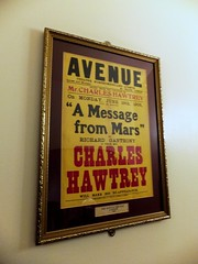 Charles Hawtrey, A Message from Mars, Theatre Poster (mercycube) Tags: london theatreposter playhousetheatre charleshawtrey amessagefrommars