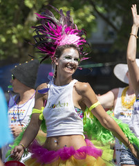 """Vancouver Pride Parade 2014 - 0252 (gherringer) Tags: summer music canada smile vancouver fun happy bc pride parade colourful vanpride """"west end"""" lodenhotel"""