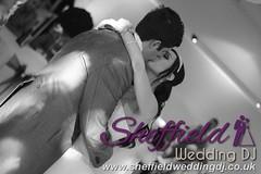 Andrew & Lauren McCambridge - Hellaby Hall - Black & White  Wedding Photos by Sheffield Wedding DJ 009