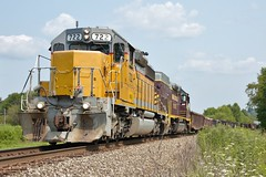 OHCR 722 Bowerston W&LE Connection Local 8/7/14 (Poker2662) Tags: ohio local connection 722 sd402 bowerston 8714 wle ohcr