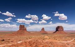 Monument Valley (Javier lamo Andrs) Tags: park wild arizona usa naturaleza west monument nature america canon landscape utah amrica sandstone day paisaje tribal valley 7d navajo javier andrs americano eeuu bii lamo ts ndzisgaii pwpartlycloudy