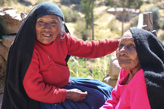 Women of Taquile, Peru (Hannah_Kirkland) Tags: travel portrait lake peru titicaca island women culture taquille