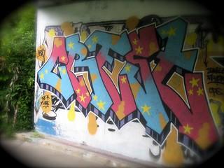 Crest Graffiti Cheltenham