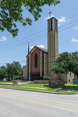Our Lady of Victory Cathedral, Victoria (_jjph) Tags: texas cathedral victoria modernarchitecture romancatholic churcharchitecture southtexaschurchcrawl2014