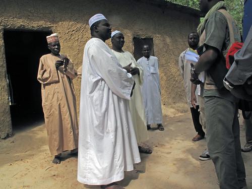 Tchad - Formation Etudes sur la sécurité semencière (ESS) - Présentation des activités de terrain au Chef du canton d'Elfass de la sous-préfecture de Linia