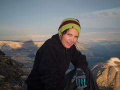Another morning's hard earned sunrise. (nevadoyerupaja) Tags: summer usa climbing wyoming grandteton guiding nikonsp7100