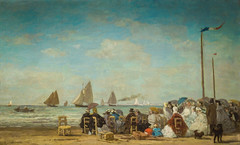 Eugene Boudin - Beach Scene at Trouville, 1863 at National Art Gallery Washington DC (mbell1975) Tags: from ca art beach museum painting french for smithsonian dc washington districtofcolumbia san francisco gallery museu unitedstates fine arts honor scene musée musee eugene national impressionism museo museums intimate impression boudin impressionist muzeum legion nga viewed 1863 finearts trouville beaux beauxarts müze gallerie also sfmofa
