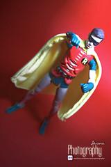 Boy Wonder (Alvaria Photography) Tags: robin toy geek action 1966 figure batman 1960s dccomics mattel collector tvseries adamwest boywonder capedcrusader burtward