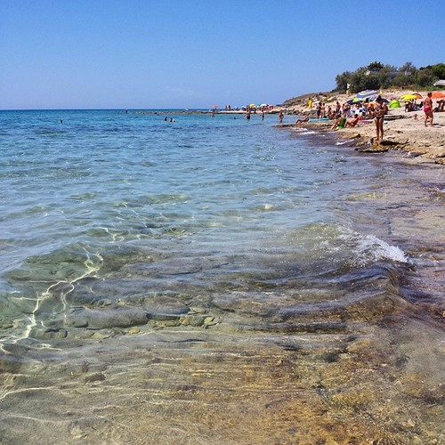 Cielo terso, sole intenso, acqua caldissima! Niente male⛵