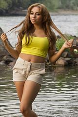 Sadie (austinspace) Tags: portrait woman house river washington model spokane sweet16