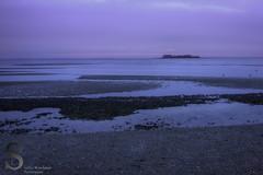 Low tide and Charles SIsland (Singing With Light) Tags: sunset beach night photography 1 gulf pentax january k5 k3 2014 charlesisland ctwinter gulfbeach miilford singingwithlight singingwithlightphotography