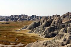 The View 08112014 (Orange Barn) Tags: southdakota geology nationalparkservice rockformations greatplains highplains geologicalformations thebadlands thebadlandsnationalpark mixedgrassprairie