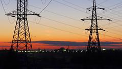   Sunset, 2014.09.02 (deepskyobject) Tags: autumn sunset sky sun stpetersburg russia september saintpetersburg 2014