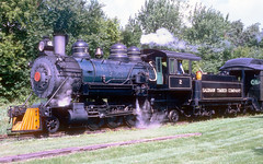 Saginaw Timber Company #2 (rrradioman) Tags: 2 wisconsin freedom timber smoke north july steam company 1994 saginaw 282