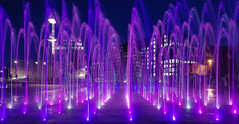 IMGP2114 (mattbuck4950) Tags: england london water night europe unitedkingdom july fountains 2014 londonboroughofcamden centralstmartinscollegeofartanddesign lenssigma18250mm camerapentaxk50