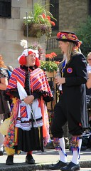 A pantomine dame? (jpotto) Tags: uk yorkshire traditions greenfield saddleworth morrismen rushcart