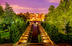 Meridian Hill Park at Night. (JohnJackPhotography) Tags: john jack photography dc washington