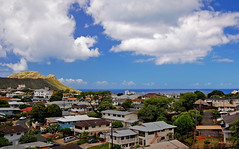 Diamond Head from Kaimuki Mini-Park (jcc55883) Tags: ocean sky clouds hawaii nikon oahu pacificocean diamondhead oceanview kaimuki yabbadabbadoo d40 nikond40 kokoheadavenue kaimukiminipark pahoaavenue