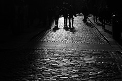 A Walk (silentdeerphotos) Tags: road street trip ireland blackandwhite bw dublin irish white black blackwhite pentax streetphotography roadtrip shades eire bn ombre 09 bianco ontheroad 2009 nero bianconero biancoenero dublino irlanda k100 pentaxk100 k100d pentaxk100d pentaxk100dsuper k100dsuper