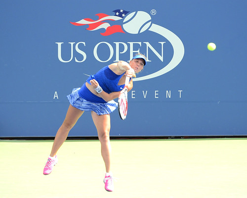 Lucie Hradecka - 2014 US Open (Tennis) - Qualfying Rounds - Lucie Hradecka