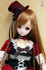 Mirai in Wonderland! (Ahharu~) Tags: cute smart outfit doll alice dream lolita kawaii choo danny bjd pullip custom dd dollfie wonderland mirai mueca keko keka dannychoo smartdoll