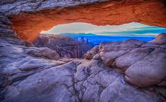 U79A0869_HDR (paulaf55) Tags: sunset utah rockformations mesaarch canyonland
